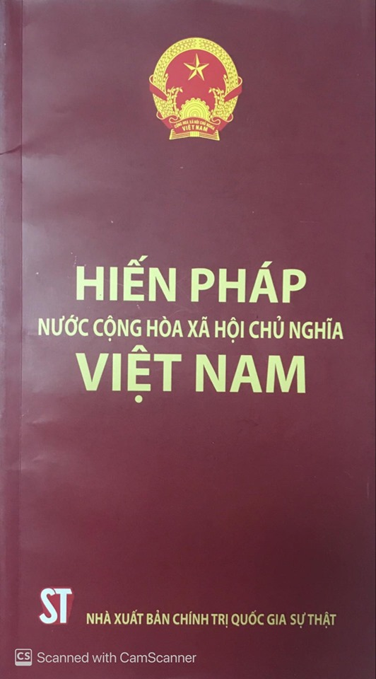 Hiến pháp nước Cộng hòa xã hội chủ nghĩa Việt Nam