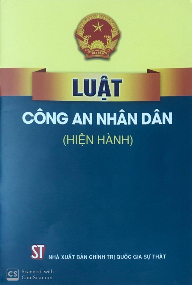 Luật Công an nhân dân (hiện hành)