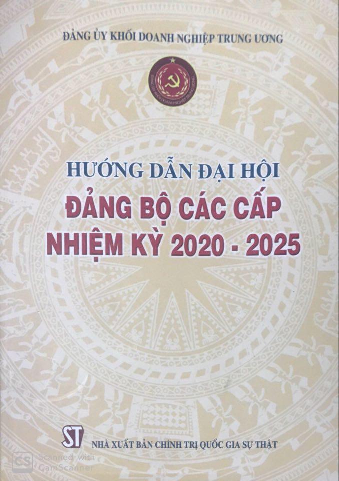 Hướng dẫn đại hội đảng bộ các cấp nhiệm kỳ 2020 - 2025