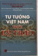 Tư tưởng Việt Nam thời Lý - Trần