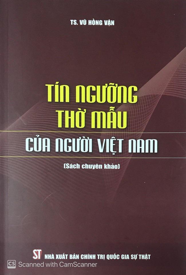 Tín ngưỡng thờ mẫu của người Việt Nam (Sách chuyên khảo)