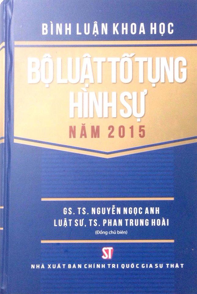 Bình luận Bộ luật tố tụng hình sự năm 2015
