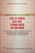 Những nội dung cơ bản của tư tưởng đạo đức, phong cách Hồ Chí Minh