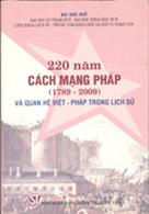 220 năm cách mạng Pháp (1789 – 2009) và quan hệ Việt - Pháp trong lịch sử