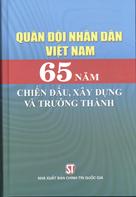Quân đội nhân dân Việt Nam 65 năm chiến đấu, xây dựng và trưởng thành