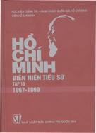 Hồ Chí Minh – Biên niên tiểu sử tập 10 (1967 – 1969) (Xuất bản lần thứ hai, có sửa chữa, bổ sung)
