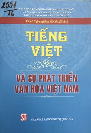 Tiếng Việt và sự phát triển văn hóa Việt Nam