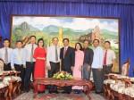 Đoàn cán bộ Nhà xuất bản Chính trị quốc gia Sự thật thăm và làm việc tại Cộng hòa Dân chủ Nhân dân Lào