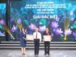 """Lễ trao Giải thưởng sáng tác, quảng bá tác phẩm văn học, nghệ thuật, báo chí về chủ đề """"Học tập và làm theo tư tưởng, đạo đức, phong cách Hồ Chí Minh"""""""