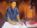 Nguyễn Hữu Tiến - Người đầu tiên vẽ lá cờ Tổ quốc
