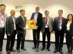 Nhà xuất bản Chính trị quốc gia Sự thật tham dự Hội chợ sách quốc tế Frankfurt 2018