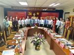 Hội đàm với Nhà xuất bản và Phát hành sách quốc gia Lào