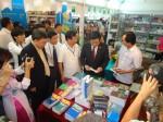 Khai mạc triển lãm - Hội chợ Sách Quốc tế - Việt Nam lần thứ IV năm 2012
