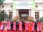 Thư viện Văn hóa thiếu nhi Việt Nam khai trương tại Hà Nội
