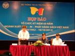 Nhiều hoạt động kỷ niệm 60 năm ngành Xuất bản - In - Phát hành sách Việt Nam