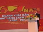 Lễ kỷ niệm 60 năm ngành Xuất bản - In - Phát hành sách Việt Nam