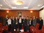 Đoàn Nhà xuất bản Nhân dân Thượng Hải tới thăm và làm việc với Nhà xuất bản Chính trị quốc gia