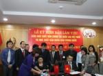 Lễ ký biên bản làm việc giữa  Nhà xuất bản Chính trị quốc gia - Sự thật, Việt Nam và Nhà xuất bản Nhân dân Trung Quốc