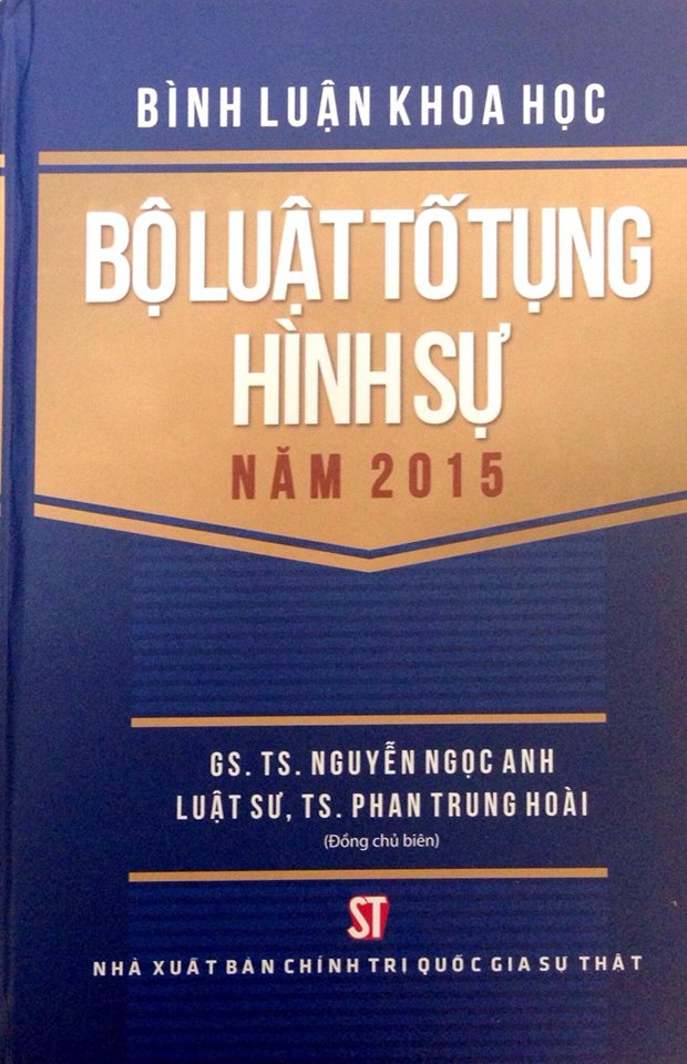 Bình luận khoa học Bộ luật tố tụng tụng hình sự năm 2015