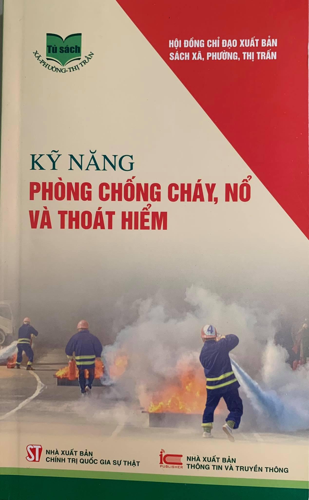 Kỹ năng phòng chống cháy, nổ và thoát hiểm
