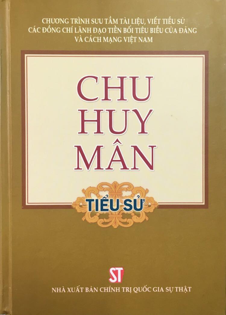 Chu Huy Mân (Tiểu sử)