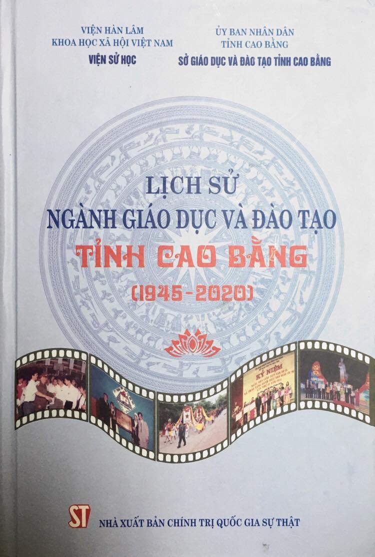 Lịch sử ngành giáo dục và đào tạo tỉnh Cao Bằng (1945 – 2020)