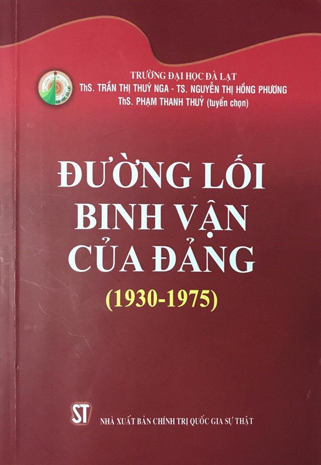 Đường lối binh vận của Đảng (1930-1975)