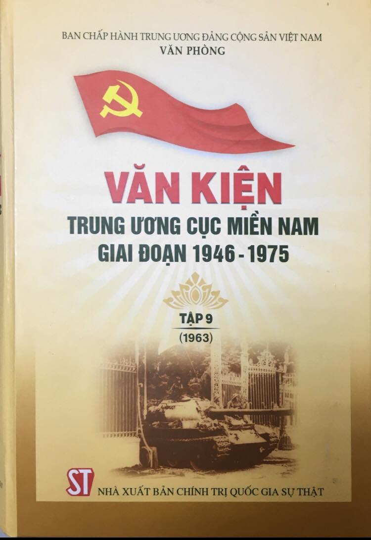 Văn kiện Trung ương Cục miền Nam giai đoạn 1946 - 1975, Tập 9 (1963)