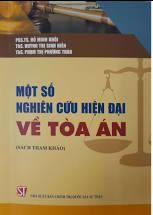 Một số nghiên cứu hiện đại về tòa án (Sách tham khảo)