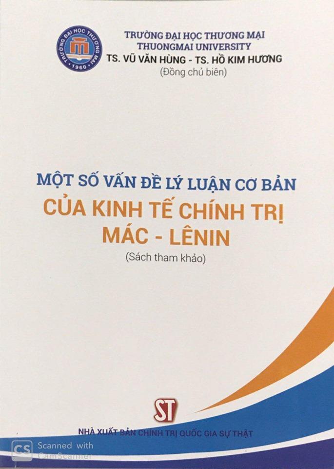 Một số vấn đề lý luận cơ bản của kinh tế chính trị Mác - Lênin (Sách tham khảo)