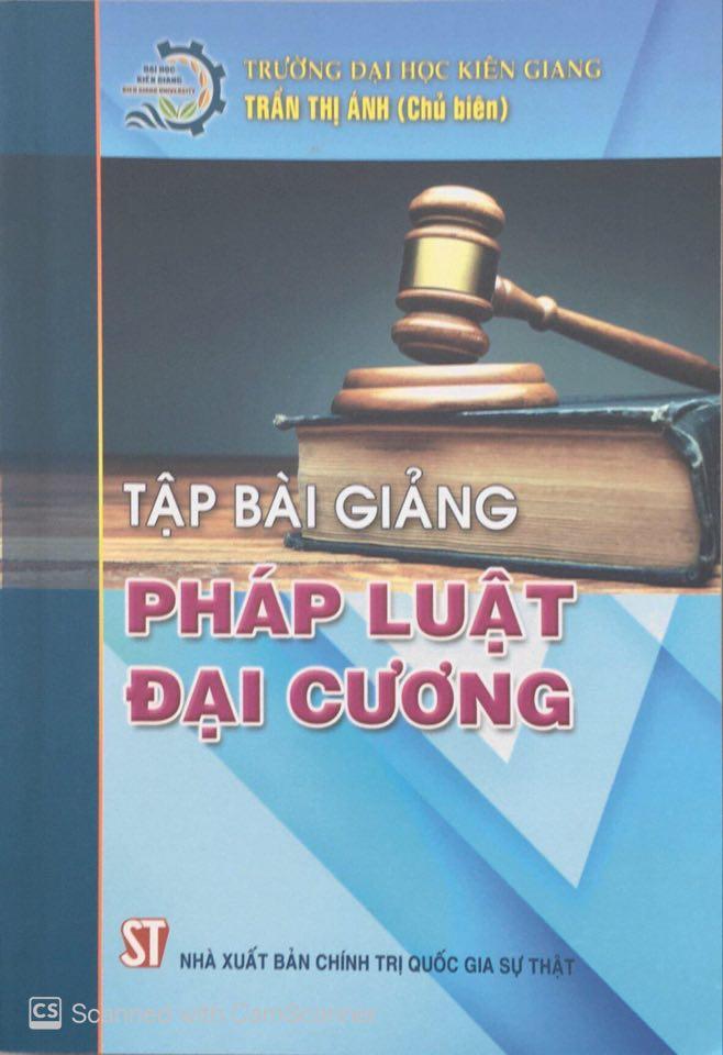 Tập bài giảng pháp luật đại cương