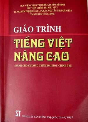 Giáo trình Tiếng Việt nâng cao