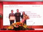 """Lễ giới thiệu sách của Bộ Công an và trao tặng Kỷ niệm chương """"Vì sự nghiệp xuất bản sách chính trị, lý luận, pháp luật của Đảng và Nhà nước"""""""