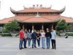 Đoàn Thanh niên Chi nhánh Nhà xuất bản Chính trị quốc gia Sự thật tại Thành phố Hồ Chí Minh tham quan Địa đạo Củ Chi và Công ty cổ phần In Khuyến học phía Nam