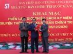 Khai mạc Triển lãm giới thiệu sách kỷ niệm 75 năm Ngày truyền thống Nhà xuất bản Chính trị quốc gia Sự thật (05/12/1945 – 05/12/2020) và giới thiệu bộ sách Các dân tộc ở Việt Nam